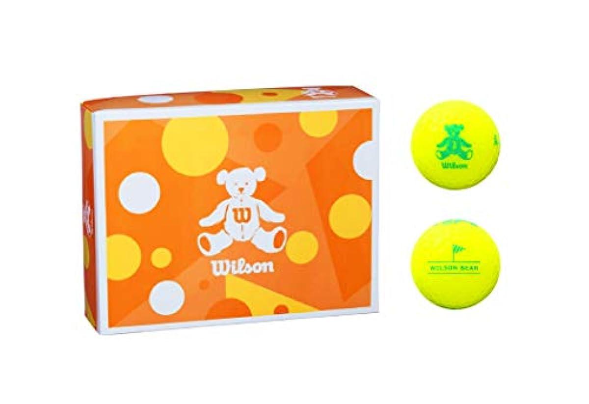 [해외] WILSON(윌슨)골프 볼 BEAR4 다스12개 들이
