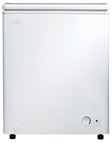 Danby DCF038A2WDB-3 Chest Freezer (Danby 4-4 Cu Ft Compact All Refrigerator)