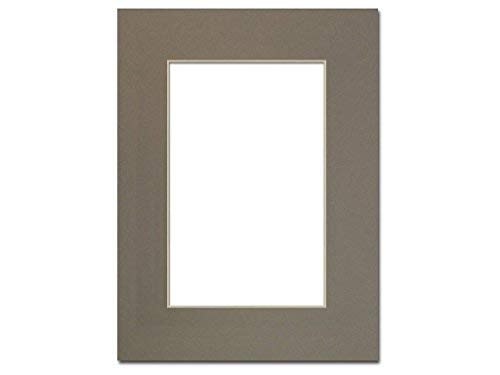 PA Framing, Single Mat, 9 x 12 inches Frame for 6 x 9 inches Photo Art Size - Cream -