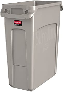 Rubbermaid Commercial 22-Gal Rectangular Wastebasket