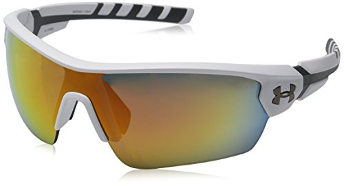 Homme Lunettes Charcoal Satin soleil White Orange Gray de Under Armour C51wI