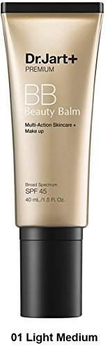 Dr. Jart+ Premium Beauty Balm SPF 45, No. 1 Light – Medium, 1.5 - For Colors Best My Tone Skin