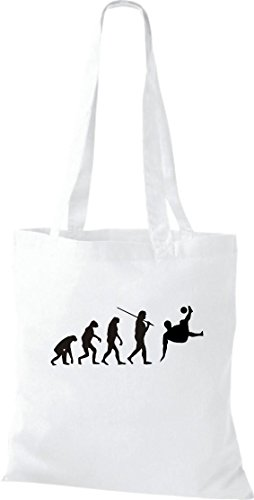 For Bag Fabric Cotton Women White White Krokodil qaw7Bn
