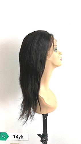 "14""100% human hair Indian remi yaki straight by Superiorlacewigs"