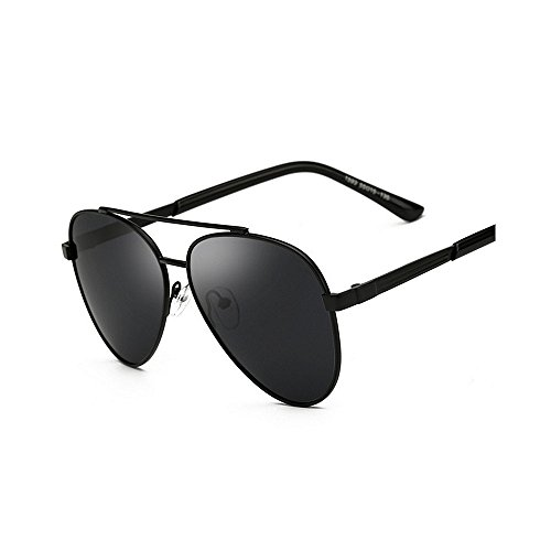 Metal para Black Driving Fashion Hot Frame Polarized Sunglasses Black Mens Hombres Yxsd Color ZwqUCxBaB