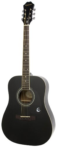 epiphone-dr-100-acoustic-guitar-ebony