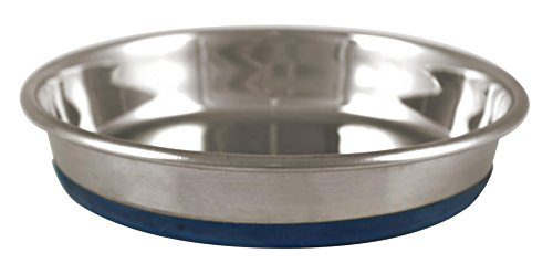 OurPets Durapet Stainless Steel Cat Dish, 1.75 ()