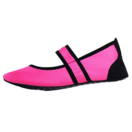 WILLBE Womens Mens Water Shoes Comfortable Outdoor Women Men Quick Dry Aqua Shoes Barefoot Socks Swim Beach Swim Shoes]()