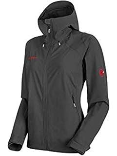 Black Womens Extra Small 1010-14910-0001-112 Mammut Ultimate Softshell Jacket
