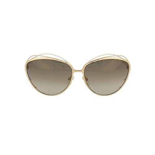 Dior Lunettes de soleil Dior Songe Pour Femme Blue / Pink / Gold / Grey Gradient JQO/HA: White / Pink / Gold