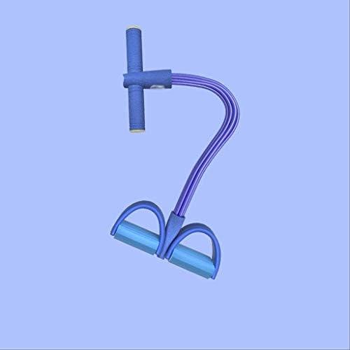 ペダルラリーフィットネスペダルラリー腹筋運動弾性ロープシットアップエイズヨガフィットネスボリューム腹部ハイラリーラリーフットペダルプルロープ 家庭用運動器具女性 jsmhh