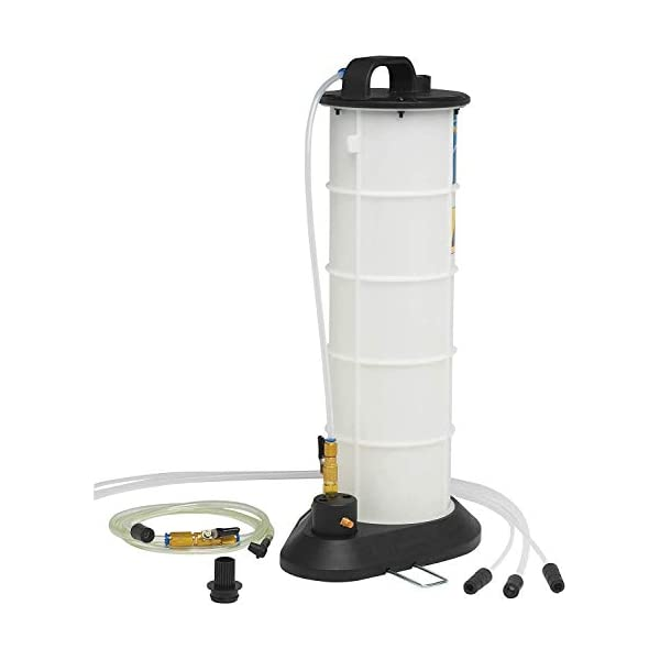 Mityvac MV7300 Pneumatic Air Operated Fluid Evacuator with Accessories for Draining Engine Oil or Transmission Fluid