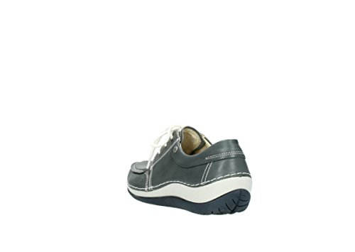 Wolky, 4800, Coral, Damen Schnürhalbschuhe, creme(262) 225 grey leather