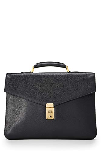 - CHANEL Black Caviar Leather Briefcase (Pre-Owned)