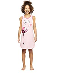 Flamingo Girls 2-Pack Knit Sleep Gowns Size XS (4/5)