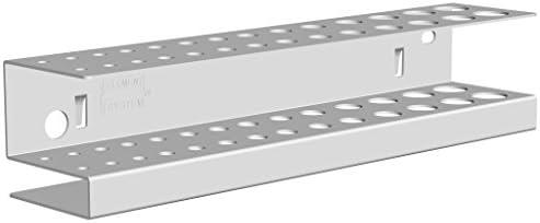 Element System 11413-00002 Bohrer-Leiste/für Werkzeuglochwand/Lochplattenwand/weiß