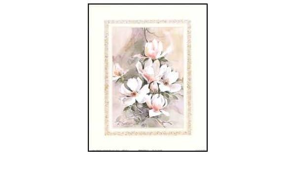 Magnolias I Paper Tole 3D Kit 8x10 by DSC