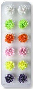 JEM Cutters Icing Carnations - Colours - 12 pcs