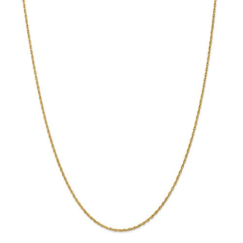 18k1.3mm Heavy Baby Link Rope Chain Necklace 24 Inch Pendant Charm Fashion Jewelry Gifts For Women For - Watch Pink Diamonds Floating