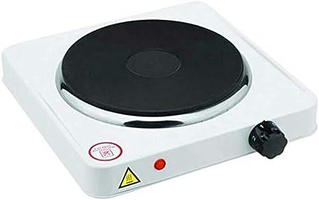 SVE Hornillo eléctrico 1000W un Fuego Cocina Camping portátil ...