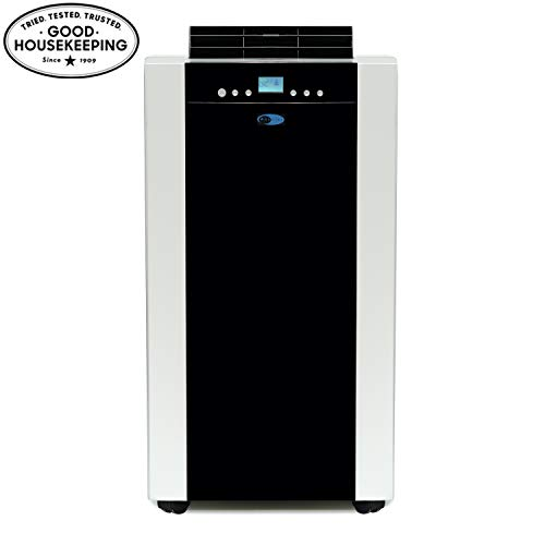 Whynter ARC-14S 14,000 BTU Dual Hose Portable Air Conditioner, Dehumidifier, Platinum And Black & ARC-WK-DUALN Plastic…