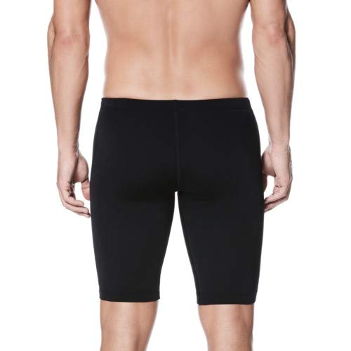 Nike Swim TESS0036 Mens Poly Core Solid Jammer, Black-22
