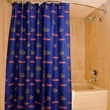 The Northwest Company Florida Gators Fabric Shower Curtain 72