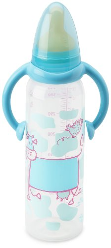 Tigex 313180 Air Control Polypropylene Bottle with Handle Latex Teat 330 ml Cat / Cow