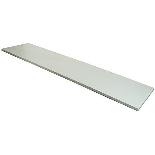 Econoco 48 Inch White Melamine Shelf -
