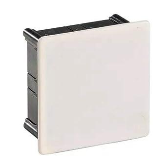 IDE D110 IP33 Caja de Derivación de Empotrar con Tapa de Garra ...