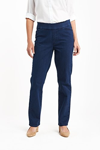 Chic Classic Collection Womens Easy-fit Elastic-Waist Pant