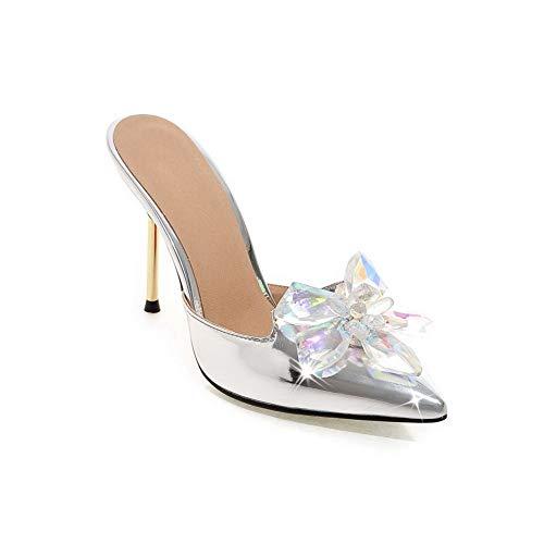 Silver Balamasa Sandales Femme Asl05794 Compensées qIIw1Axrg5