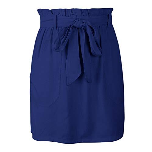 Droite Xinwcang de Jupe Jupes Haute Crayon Marine Femmes Mini Soire Courte Moulante Taille W11n0qBrcg