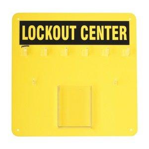Lockout Board, Unfilled, 14 In H BRADY