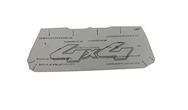 Genuine Ford 7L3Z-9925622-EA Nameplate Decal