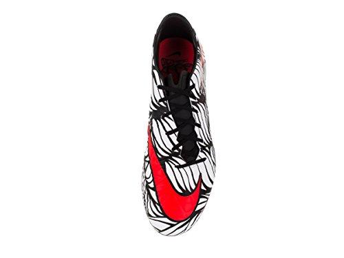 Hypervenom Hell Fußballschuhe Schwarz Weiß Ii Hochrot NJR Herren weiß Schwarz Nike FG Phatal v5qBC
