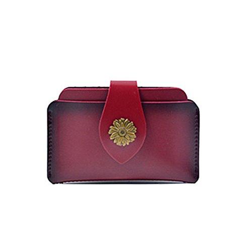 Badiya - Cartera de mano para mujer Mujer, marrón (Marrón) - WW05952BN rojo vino