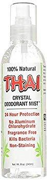 (Thai Deodorant Stone Crystal Mist Natural Deodorant Spray 8 oz. (Single))