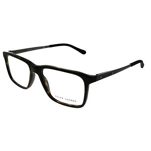 (Ralph Lauren RL6133 Eyeglass Frames 5616-54 - 54mm Lens Diameter Dark Havana)