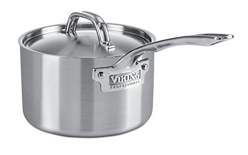 Viking Professional 5-Ply Stainless Steel Saucepan, 3 Quart by Viking Culinary