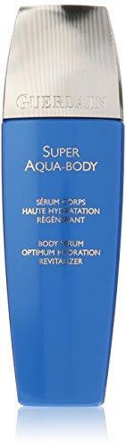 Guerlain Super Aqua Serum Body Optimum Hydration Revitalizer/Desert Rose Flower Complex Unisex Serum, 6.7 ()