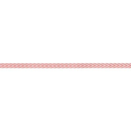 May Arts Chevron Stripe - May Arts Twill Chevron Stripes Ribbon, 0.25-Inch by 50-Yard, Pink