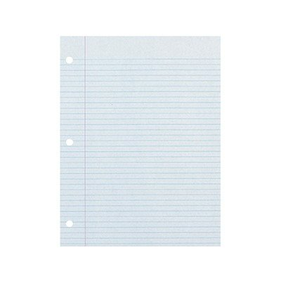 Ecology Filler Paper - SCBPAC3204-17 - ECOLOGY RECYCLED FILLER PAPER PACK pack of 17