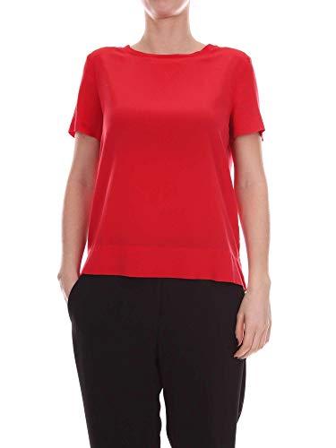 Cotone shirt Jm42123004430000 Donna Malìparmi Rosso T P85q5xIw