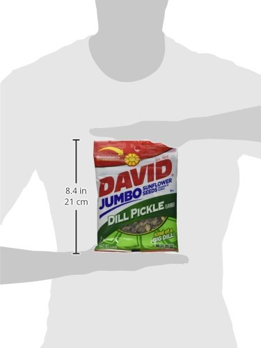 Conagra David Dill Pickle Sunflower Seed, 5.25 Ounce -- 12 per case. by ConAgra (Image #3)