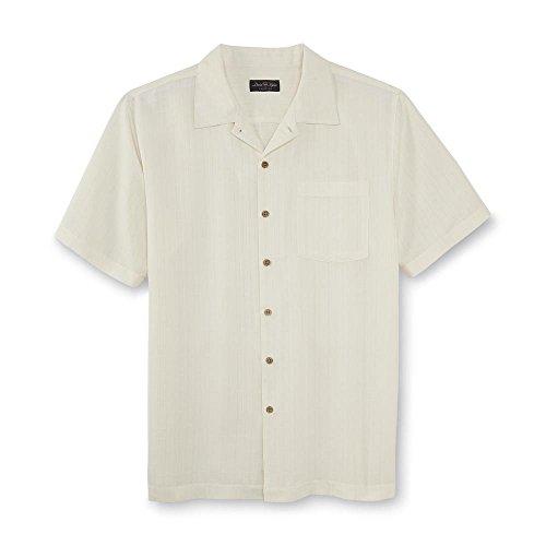 David Taylor Collection Men's Short-Sleeve Button-Front Shirt