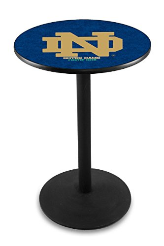 Holland Bar Stool L214B Notre Dame (ND) Officially Licensed Pub Table, 28