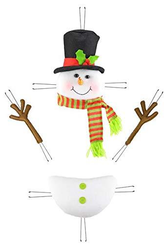 - EXPRESSIONS Snowman Decor Kit Wreath Enhancement