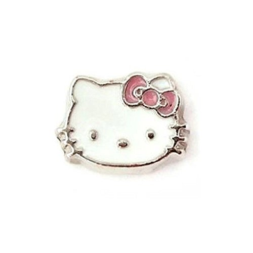 Hello Kitty Floating Charm Fits Origami Owl or Mother Locket