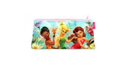Kids Disney Fairies Tinkerbell Pencil Case Bag